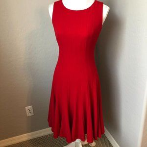 Calvin Klein Fit and Flare Sleeveless Dress